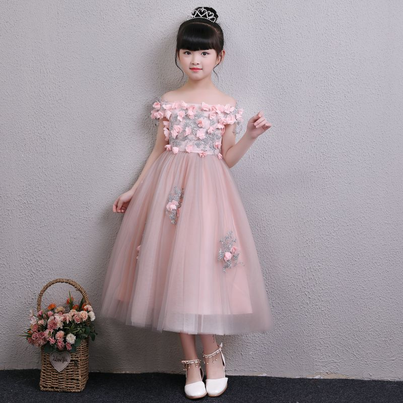 Aliexpress.com : Buy Glizt Pink Tulle Girls Flower Girl
