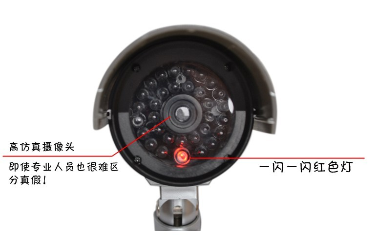 Simulation Fake Model Camera Monitor Surveillance High Imitation Electronic Disguise Feint Affectation Family Safety Plastic