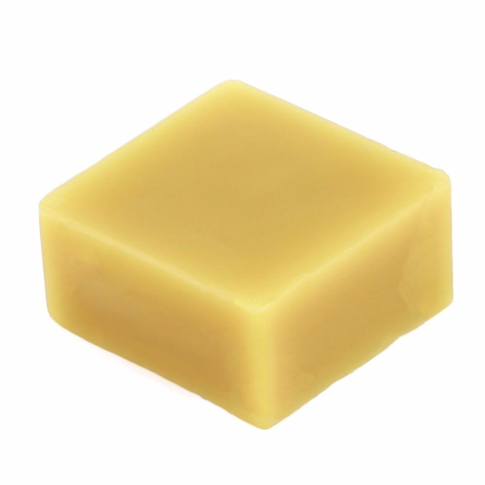 1 pcs Cosmetic Natural Honey Furniture Polish Wax 100% Organic Natural Pure Beeswax Food Grade Yellow Beeswax DIY Lip Balm