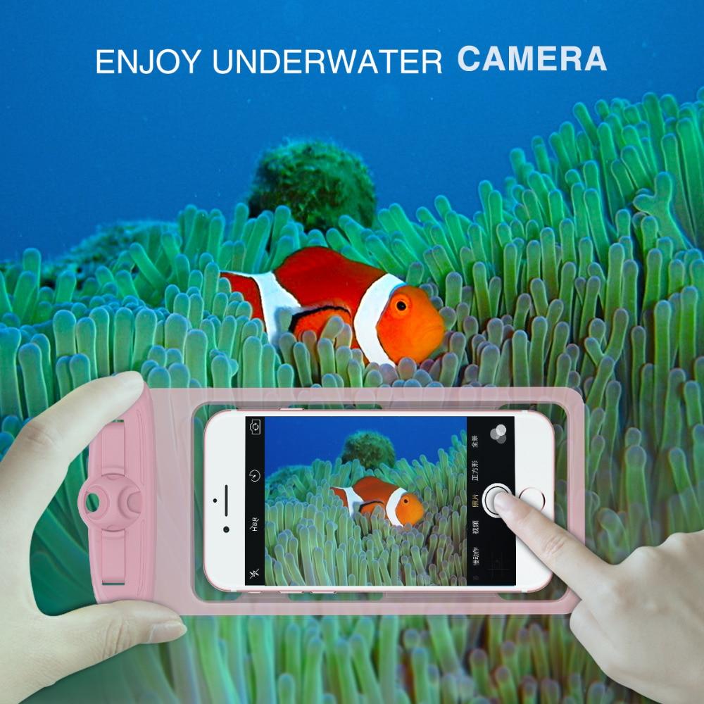 Vattentät torrväska påse, 6,3 tum universal vattentät dykning - Reservdelar och tillbehör för mobiltelefoner - Foto 1