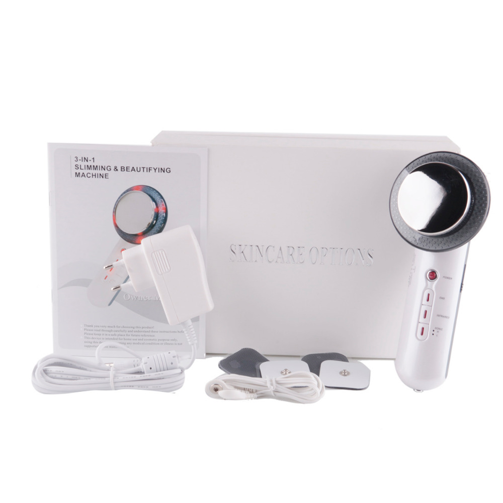 Ultrasound Cavitation EMS Face Body Slimming Massager Weight Loss Anti Cellulite Galvanic Infrared Fat Burner Ultrasonic Therapy