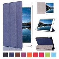 Ultra Slim Custer Ziarna Wzór 3-Folder Folio Stań PU Leather Magnetic skóry Pokrywy Skrzynka Dla Apple ipad mini 4 Mini4 4Gen Tablet