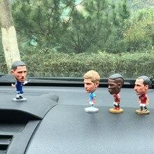 Популярные декоративные футбольные Клубные Звездные куклы, автомобильные аксессуары RONALOD MESSI