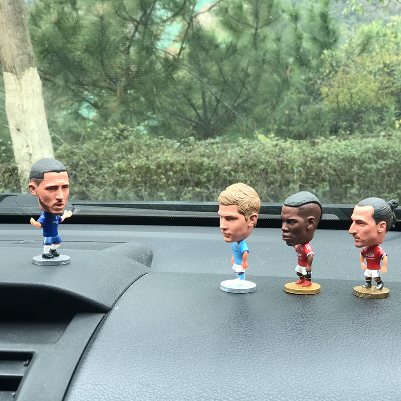 Popular decorative football league club star doll car accessories RONALOD MESSI
