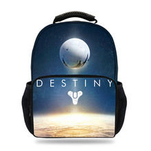 15inch 3D Newest POP Game Destiny 2 Cayde-5&Warlock printing Schoolbag for Boys laptop Casual Kid Schoolbag Children Mochila