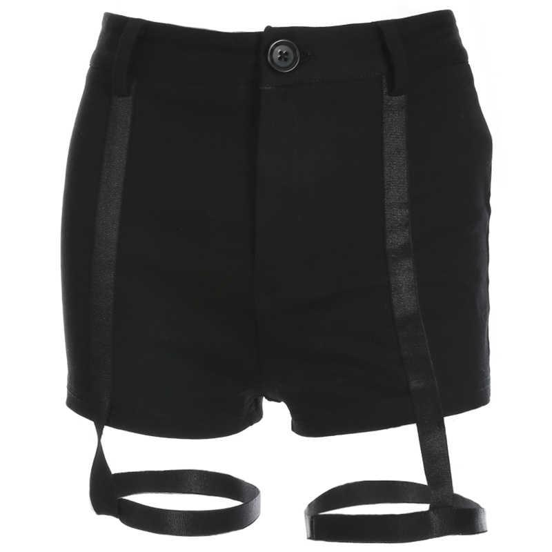 HEYounGIRL повязка с высокой талией сексуальные шорты черные облегающие танцевальные Клубные шорты пояс на бедра Эластичный корейский стиль Горячая Распродажа шорт