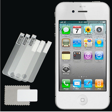 New 3pcs lot CLEAR LCD Screen Protector Guard Cover Film Shield for Apple iPhone 4 4S