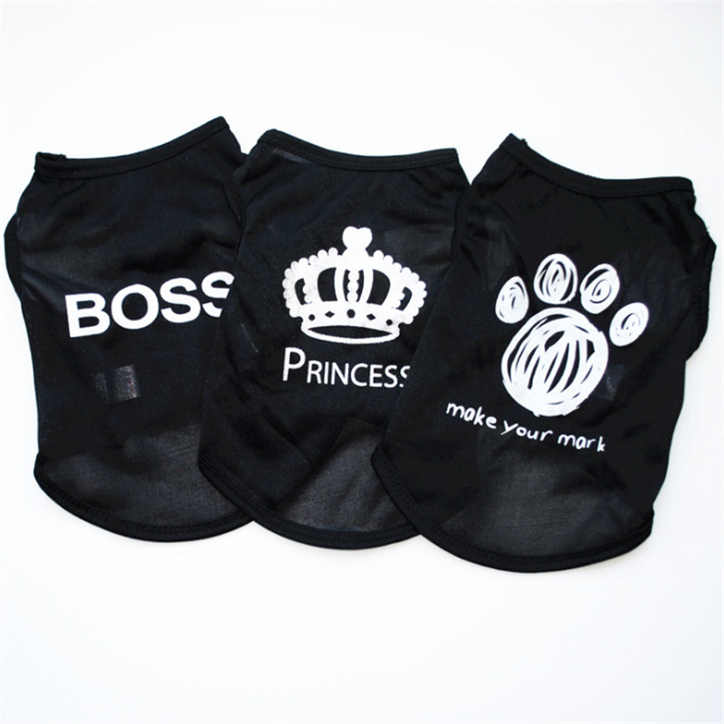 Hot sale Puppy Pet Dog Clothes Sweat shirts dog clothes for small dogs Summer Yorkie dog chihuahua ropa para