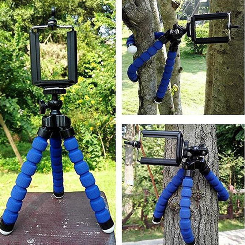<font><b>Flexible</b></font> Octopus Digital Camera Tripod Holder Universal for Gopro Mount Bracket <font><b>Stand</b></font> Display Support For Cell Phone Accessories