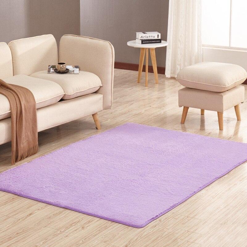 Modern area rug for living room large solid rectangle rugs kids bedroom carpet home floor mats in the hallway short hair carpets