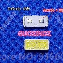 Для SHARP светодиодный ТВ Применение ЖК-дисплей Подсветка для ТВ светодиодный Подсветка высокое Мощность светодиодный 1 Вт 6В 7030 холодный белый