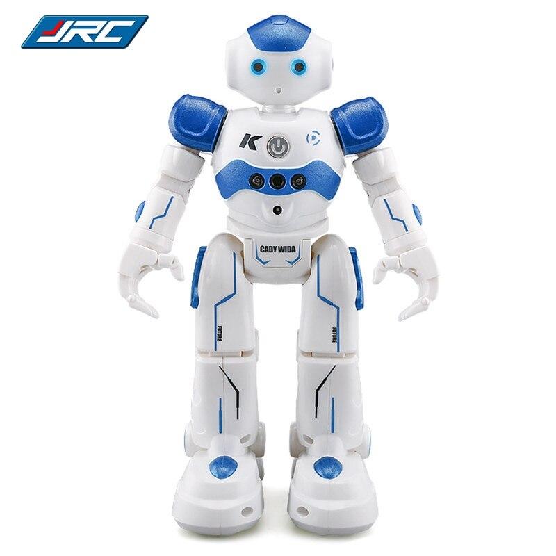 JJR C JJRC R2 USB Charging Singing Dancing Gesture Control RC Robot Toy Blue Pink For
