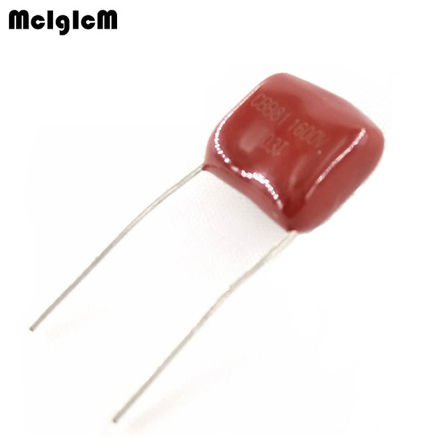 MCIGICM 1000 pcs 103 10nF 1600V CBB פוליפרופילן סרט קבלים המגרש 15mm 103 10nF 1600V