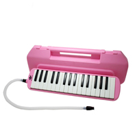 New 32 Keys Melodica Musical Instrument Plastic Box Packaging Environmental Protection For Kid Student Music Lover Delicate Gift