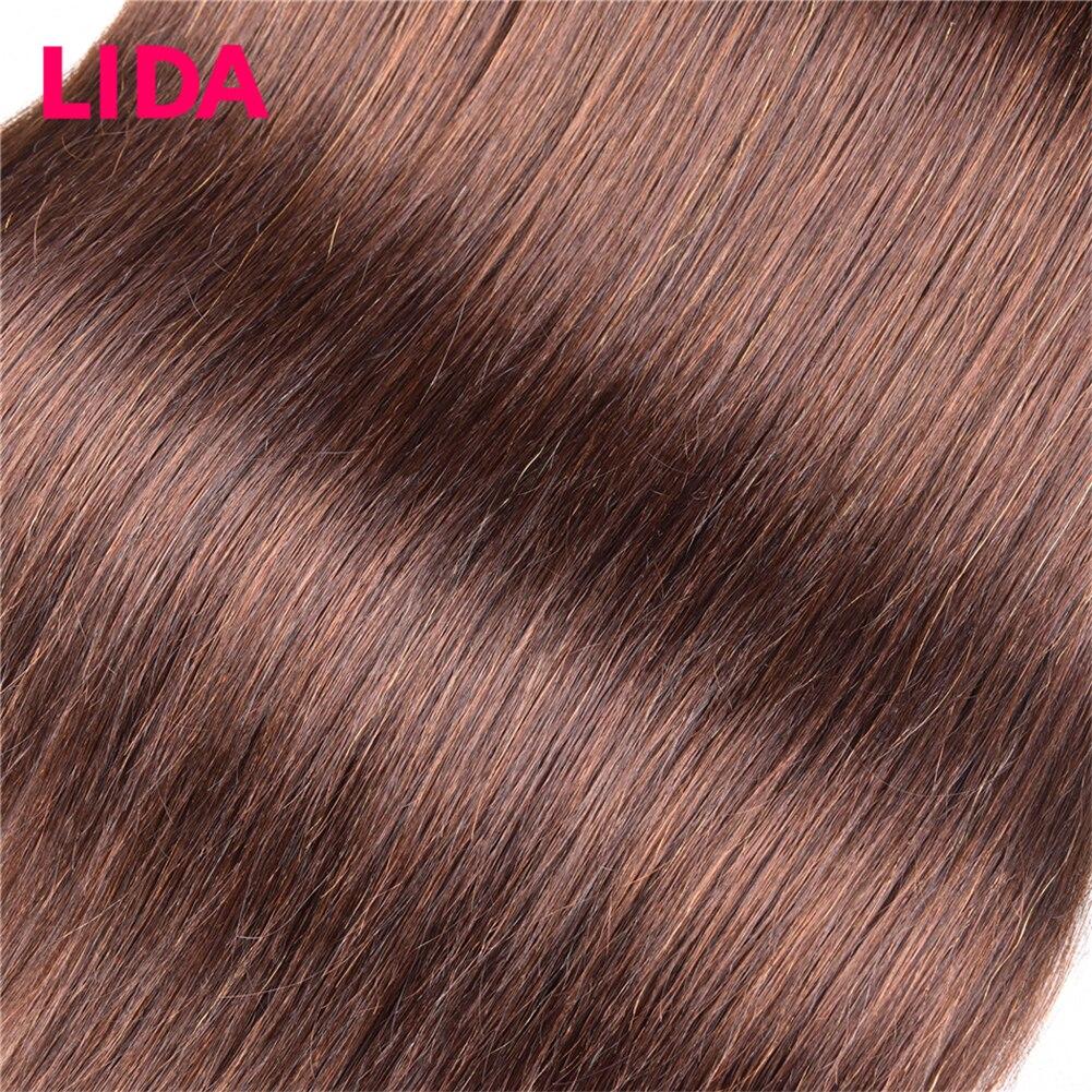 LIDA  Bundles Double Weft  Hair  Bundles 8-26 inch  Straight Hair Bundles For 3 Bundles Deal 4