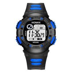 AICSRAD 2019 светодиодный Дисплей цифровой спортивные часы для Для женщин Роскошная жизнь водонепроницаемый силиконовые часы Для мужчин часы