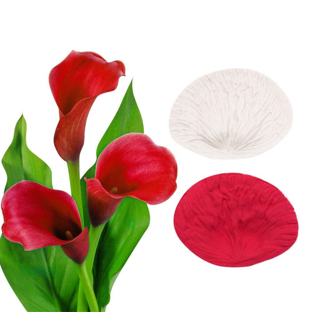 3D Leaf Veiner Shape Silicone Mold Cake Mould Fondant Bakeware Decoration DIY H