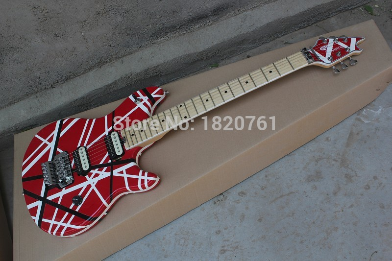 Free Shipping Cheap New hot Top Quality Musical instruments EVH Wolfgang Electric Guitar Red evh guitar with tremolo 140501 new arrival nature wood grain finish wolfgang evh peavey guitars electric as picture