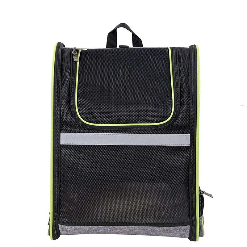 Pet Carrier Backpack For Small Cats And Dogs Ventilated Design, Strap, Buckle Support Designed For Travel, Hiking and