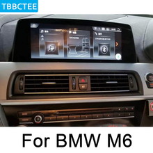 For BMW M6 2013~2017 original NBT System Android Car DVD Player Auto radio GPS Navigation HD Touch Screen WIFI Bluetooth