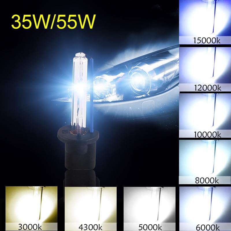2pcs Hid Xenon Kit Bulb H1 H3 H7 H8 H11 HB3 9005 HB4 9006 H27 880 881 55W 12V 3000K 4300K 5000K 6000K 8000K 10000K Car Headlight