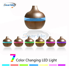 New Mini Aroma Essential Oil Diffuser Ultrasonic Cool Mist Air Humidifier USB Charging 7 Color LED Night light for Office Home new aroma essential oil diffuser ultrasonic cool mist humidifier led night light for office home bedroom living room yoga spa