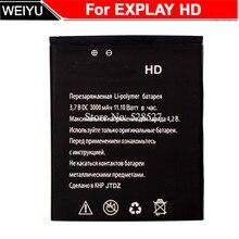 Тачскрин, аналагово-цифровой преобразователь для Explay HD Батарея 1600 мАч аккумулятор высокого качества