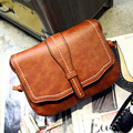 Korean Style Fashion Retro Messenger Bag Hot Sale Thread Female Shoulder Bags PU Leather Ladies Envelope Bag