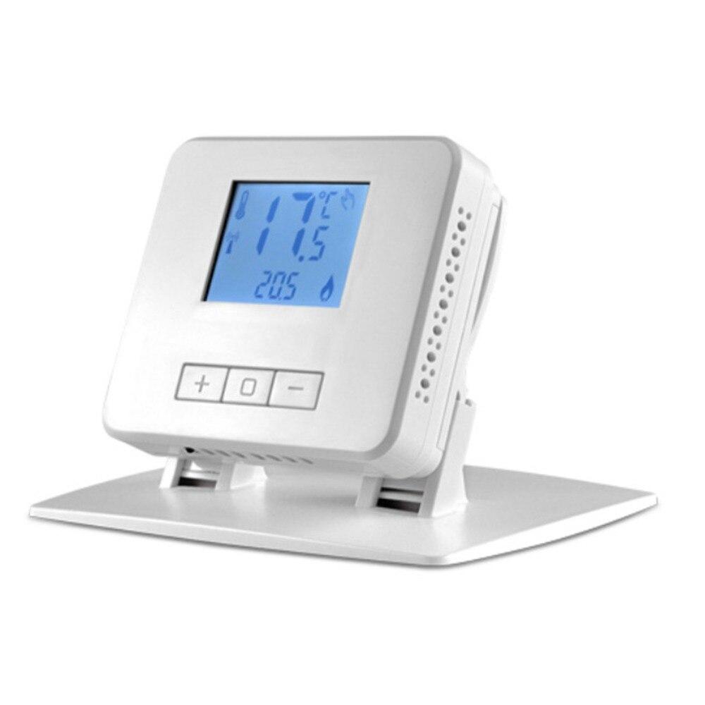 Thermostat de chauffage numérique sans fil pour les chaudières à gaz à plancher chaud