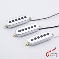 1 Set 3 Pieces GuitarFamily Tri Sonic 3 Single Alnico Pickups For Electric Guitar MADE IN