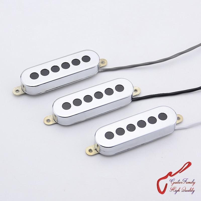 1 Set ( 3 Pieces ) GuitarFamily Tri-sonic 3 Single Alnico Pickups For Electric Guitar MADE IN KOREA свитшот print bar flower birds