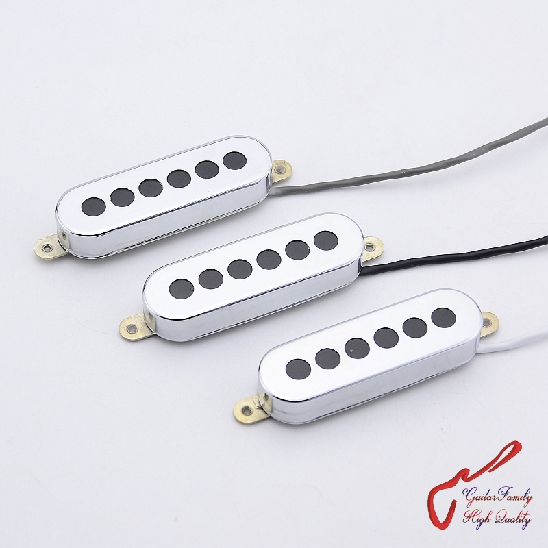 1 Set ( 3 Pieces ) GuitarFamily Tri-sonic 3 Single Alnico Pickups For Electric Guitar MADE IN KOREA