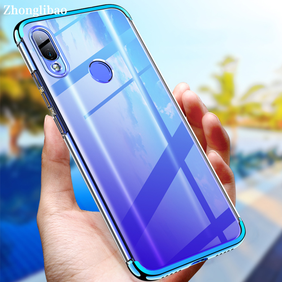 Redmi <font><b>Note</b></font> <font><b>7</b></font> Funda 360 Protection Transparent Case for <font><b>Xiaomi</b></font> Mi Redmi <font><b>Note</b></font> <font><b>7</b></font> Global Plating PC Shockproof Clear Hard Back Cover image