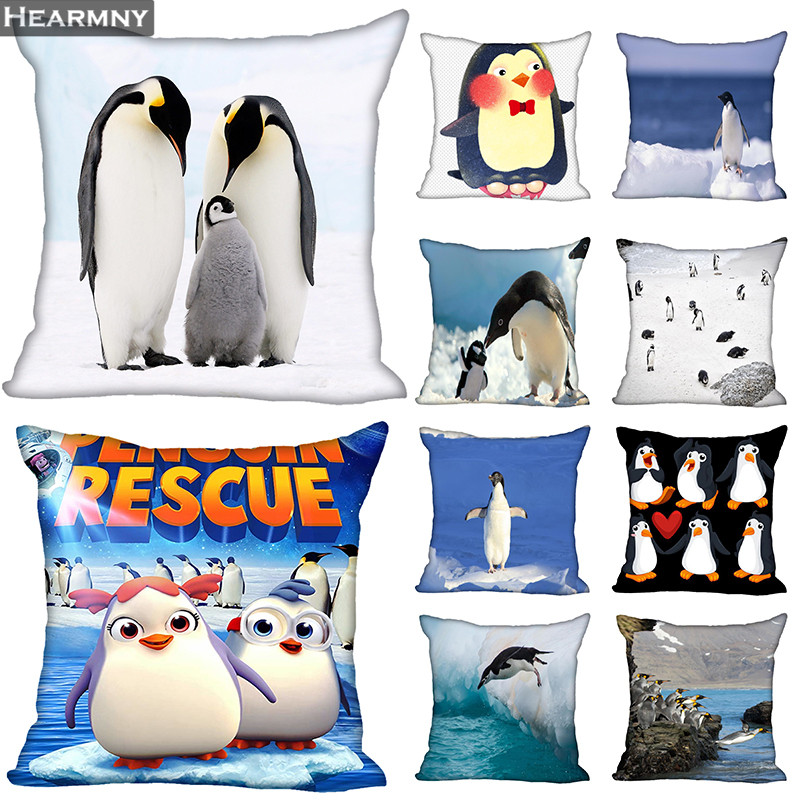 Penguin Hot Sale Pillow Case High Quality New Year s Pillowcase Decorative Pillow Cover For Wedding