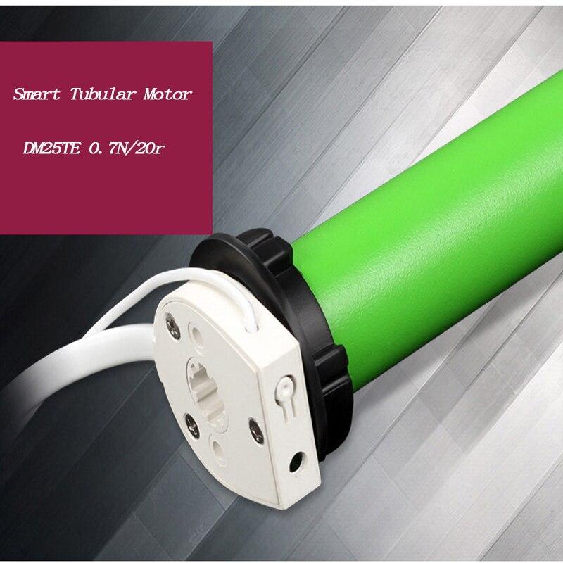 DM25TE, DOOYA Tubular Motor, For Dia. 38mm Tube Built-in Transformer And MHz 433 Receiver For Family Smart System
