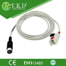 Datascope pediátrica dedo SpO2 Sensor, sensor de spo2, cabo de médicos