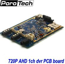 OEM 5PCS 1Ch Mini AHD 720P DVR PCB board Car/Bus/Home Used 1 Channel CCTV DVR Motion Detect With Car/CCTV Camera Real-time
