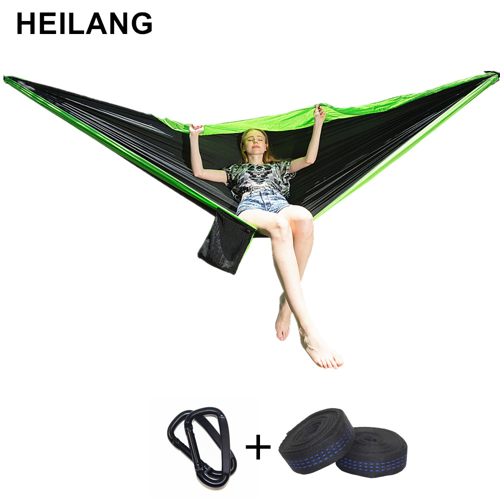 3*2m 2 People Hammock Camping Survival garden hunting Leisure Travel Double Person Portable Parachute Hammocks Hamaca Hangstoel 3 2m 2 people hammock camping survival garden hunting leisure travel double person portable parachute hammocks hamaca hangstoel