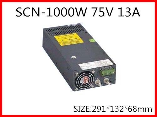 1000 W 75 V 13A Einzigen Ausgang Schalt netzteil für LED Streifen licht AC-DC S-1000-75