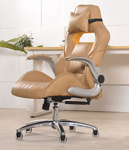 Купить с кэшбэком Home office network computer chair chair can lay the boss chair custom leather chair electric race car chair seat chair