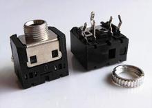 10 шт. 3,5 мм Женский аудио разъем 5 Pin DIP разъем для наушников PJ-306M
