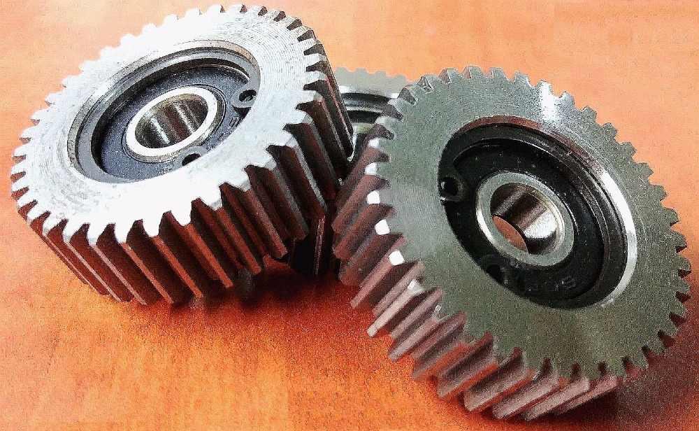 3x Circlips For Bafang Motor 3Pcs 36Teeth E-bike Wheel Hub Gears With Bearings