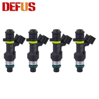 Inyectores de combustible 4 Uds FBY2850 para Nissan Sentra Versa Note NV200 J10 Tiida SC11X Cube C11X 2.0L 1.8L 16600-EN200 boquilla de inyección