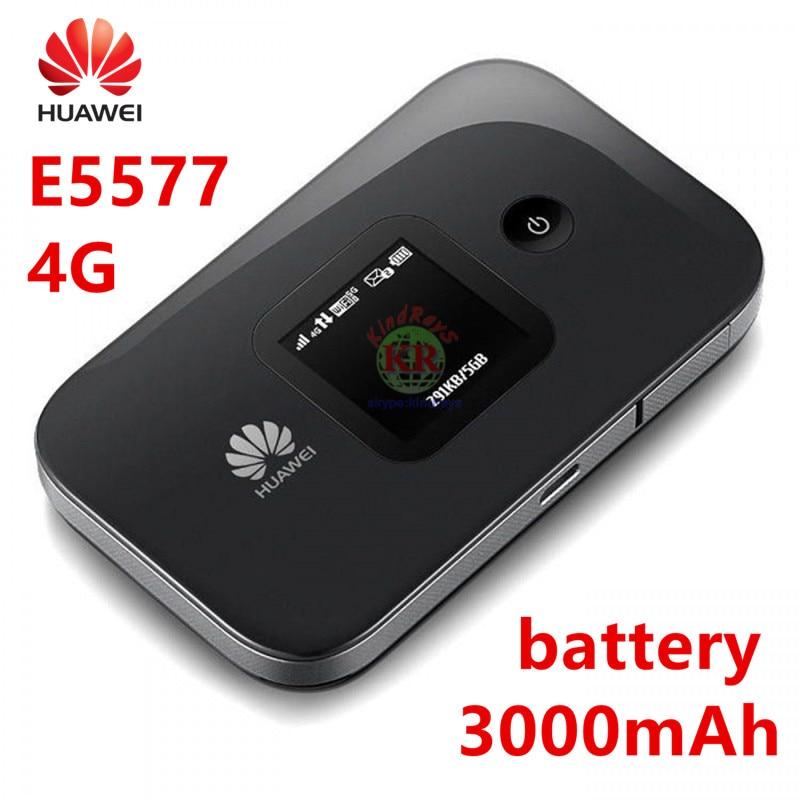 Huawei E5577 e5577s-321 3g 4g routeur hauwei poche wifi hotspot 3000 mah Batterie 4g lte routeur pk huawei e5885