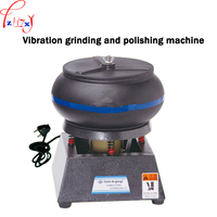Vibration grinding and polishing machine 12 inch Metal/jade jar polishing machine tumbler jewelry finisher lapidary 110/220V 1PC