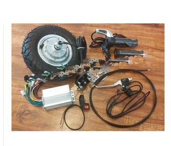 Heißer verkauf 9 zoll 350 Watt 36 V brushless nicht getriebe hub motor, Elektroroller kit, Elektrischer fahrradinstallationssatz