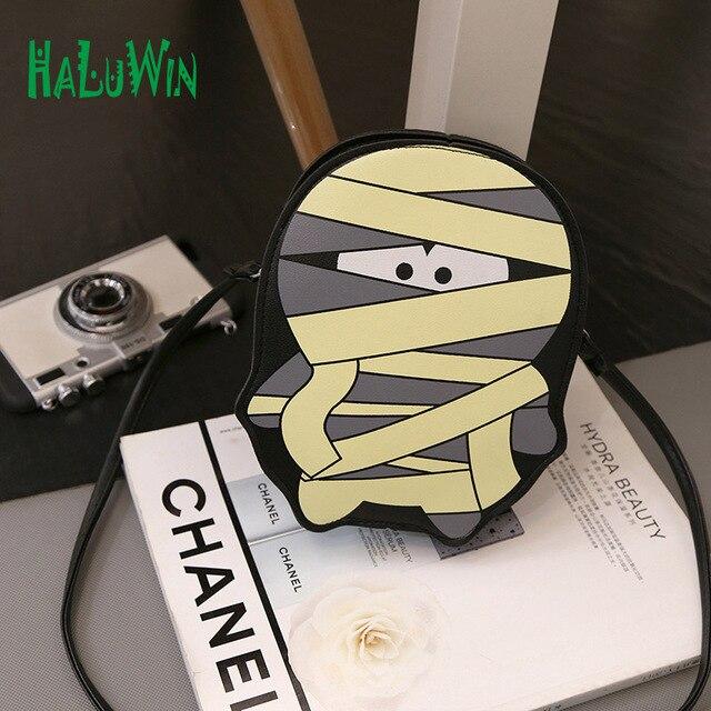 Haluwin NNN женщины леди мешок верхнюю ручку сумки партия стиль сумки плеча crossbody ребенок сумки мультипликационный персонаж дизайн симпатичный мини-мешок