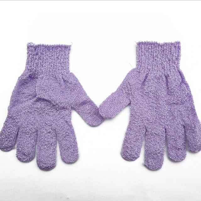 1pc Shower Bath Gloves Exfoliating Wash Skin Spa Massage Scrub Body Scrubber Glove 3