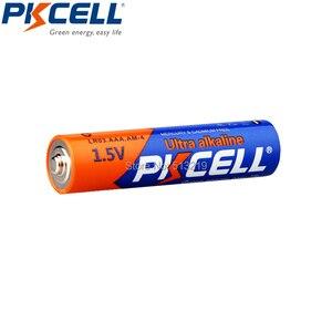 Image 4 - 100 Uds Batería alcalina PKCELL 1,5 V LR03 AAA batería de único uso para cámara, calculadora, despertador, ratón, control remoto