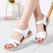 ee096095a4 White Flat Sandals Promotion-Shop for Promotional White Flat Sandals ...